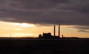 I-40-Arizona-Sunset-on-Fossil-Fuel-Power