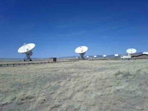 Very Large Array Radio Dishes