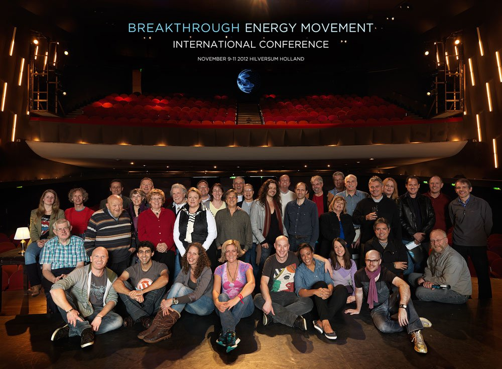 Gobal Breakthrough Energy Movement Conference 2012 Group Photo