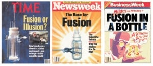 Magazine covers on May 8, 1989