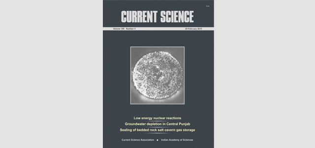 Special LENR issue of Current Science available now