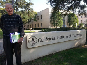 Dr. Melvin Miles visiting Caltech January 2015.