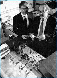 Dr. Stanley Pons and Dr. Martin Fleischmann
