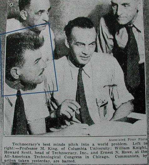 M. King Hubbert Original Technocat