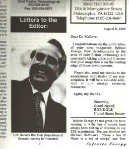 Senator Bob Dole