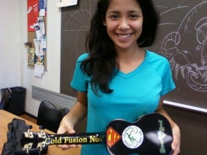 Math Student has Musical Moment