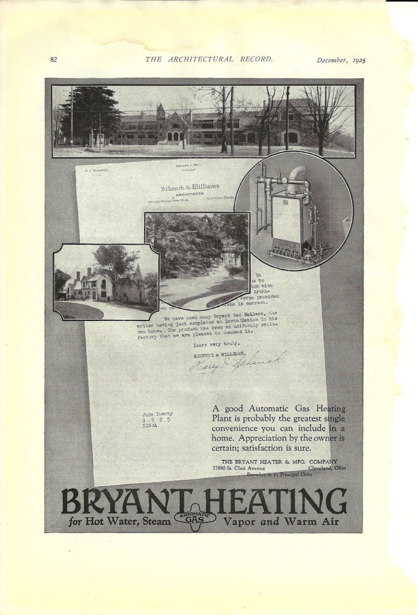 4 Bryant Heating 1925
