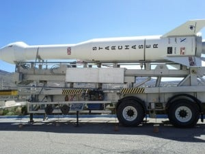 Starchaser Rocket Booster