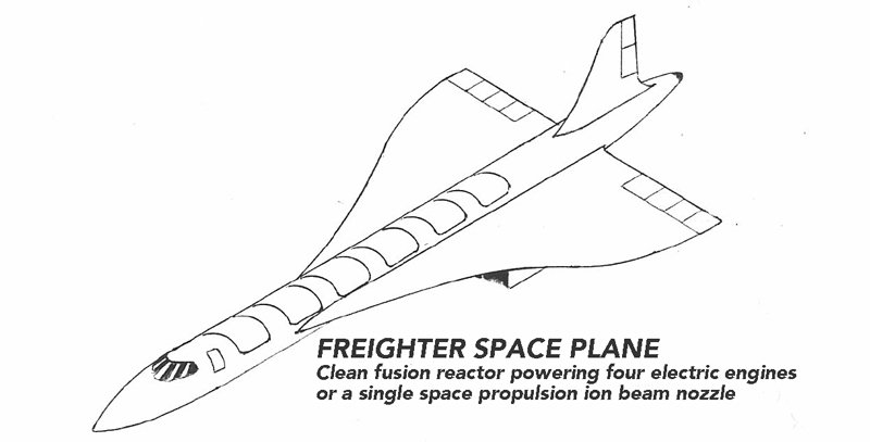 Varney Freighter Space Plane