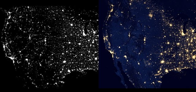 Comparing-US-at-night