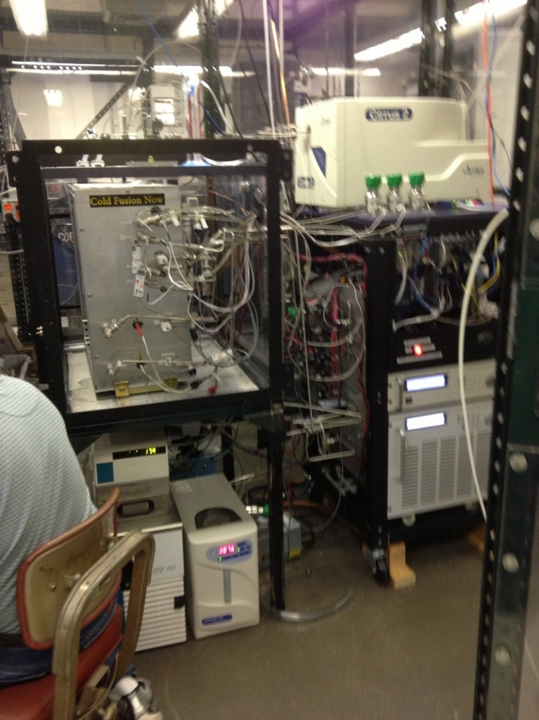 An active quantum fusion experiment from Brillouin Energy Corporation