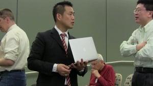 Hideki Yoshino at 2014 CF/LANR Colloquium at MIT