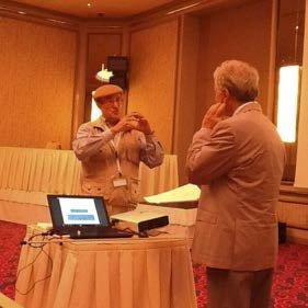 (L) Prof. Santilli, (R) Prof. Abundo at Rhodes Conference