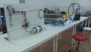 Fig-14 Complete line test reactor