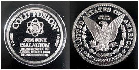 Cold Fusion Coins to MFMP from Anonymous donor.